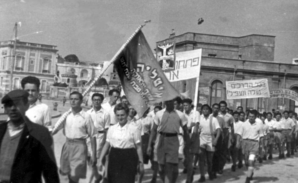Demonstration in Leuca -980